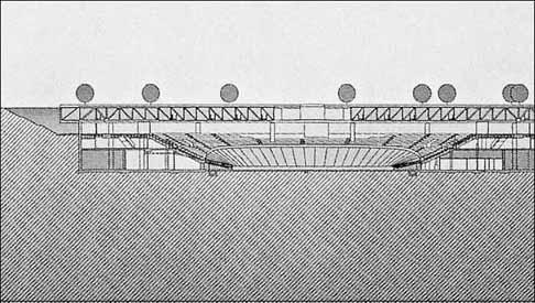 La struttura metallica